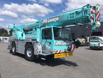 Nouvelle grue mobile JFB Levage